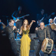 Stock Photo: nancy ajram concert in istanbul