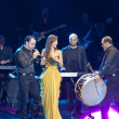 Nancy Ajram Concert in Istanbul — Stock Photo