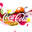Stock Photo: Coca-ColLogo Illustration