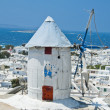 The beautiful Greek island, Mykonos - Stock Photo