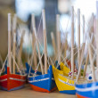 Boat figurines - Stock Photo