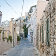 Syros (Ermoupoli) Island, Greece - Stock Photo