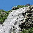 Stock Photo: Alibek waterfall. Dombay mountains. The Northern Caucas
