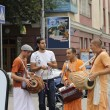 Stock Photo: Hare KrishnHare Ramon streets