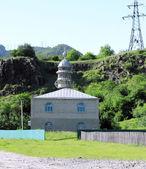 Mesquita no meddle das montanhas — Foto Stock