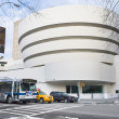 Guggenheim Museum of modern and contemporary art in New York — Stock Photo