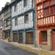 Street in Breton town — Stock Photo