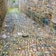 Old stone side street in Breton town - Stock fotografie