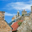 Stone houses in Brittany — Stock Photo