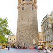 Galata tower in Istanbul, Turkey — Stock Photo
