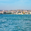 View on Istanbul through Bosphorus — Stock Photo