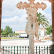 Cruz de Portugal in Silves town - Stock Photo