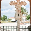 Stock Photo: Cruz de Portugal in Silves town