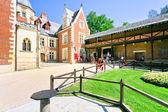 Clos luce ist ein leonardo da vinci museum in amboise — Stockfoto