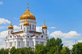 Die kathedrale von christus dem erlöser, moskau — Stockfoto