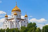 собор христа спасителя, москва — Стоковое фото