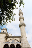 Mosque minaret — Stock Photo