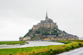 View on Mont Saint-Michel, France — Stock Photo