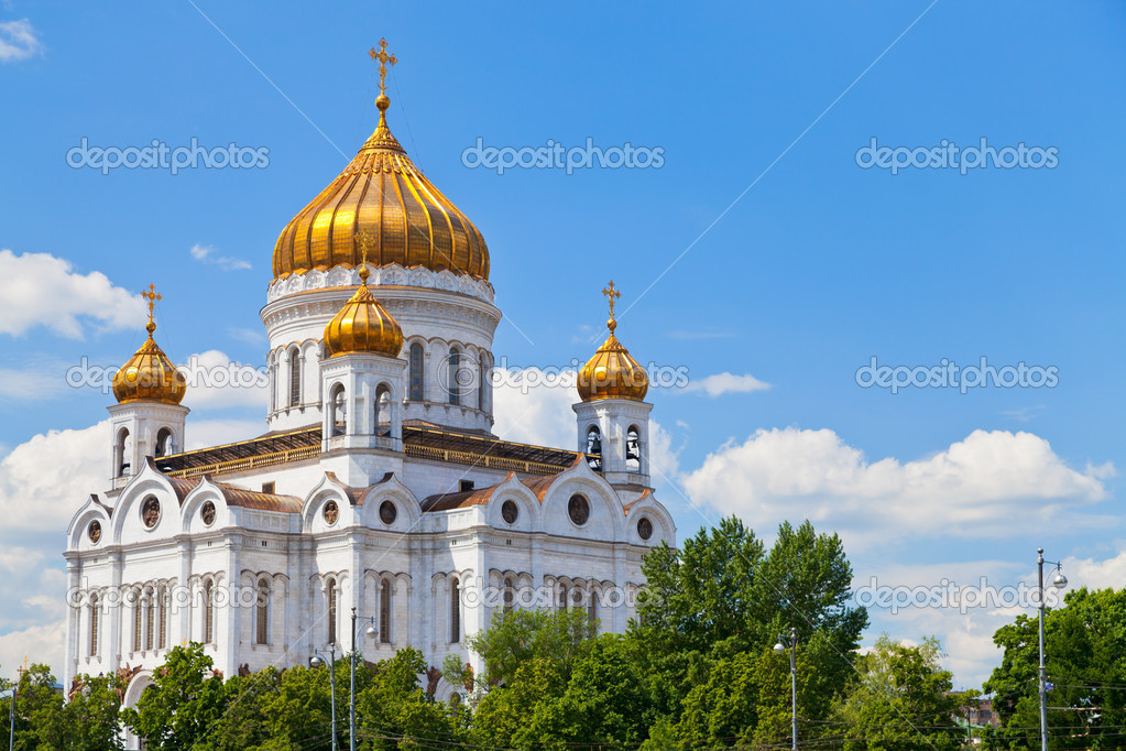 The Cathedral of Christ the Saviour, Moscow, Russia — Stock Photo #11064919