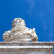Emperor bust in classic Roman style — Stock Photo