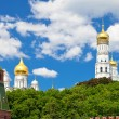 Stock Photo: Towers and Cathedrals of Moscow Kremlin