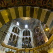 Interior of Aachen Cathedral — Stock Photo