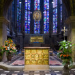 Pala d'Oro - fragment of gold altar in Aachen cathedral — Stock Photo