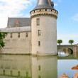 Medieval chateau Sully-sur-loire, France — Stock Photo