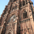 Cathedral in Strasbourg — Foto Stock