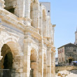 Arles Amphitheatre, Roman arena — Stock Photo