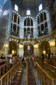 Interior of Aachen Cathedral, Germany — Stock Photo