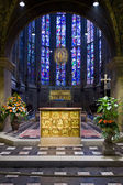 Pala d'Oro - fragment of gold altar in Aachen cathedral — ストック写真