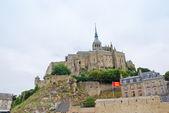 Widok na mont saint-michel, francja — Zdjęcie stockowe