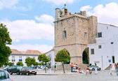Cathedral in town Faro, Portugal — Stock Photo