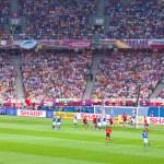 Final football game of UEFA EURO 2012 — Stock Photo #11796085