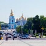 Michael's Golden-Domed Monastery in Kiev — Stock Photo