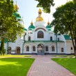 Entrance in Saint Sophia Cathedral in Kiev — Stock Photo