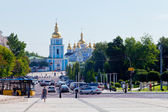 Michael's Golden-Domed Monastery in Kiev — Stock Photo