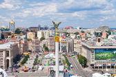 Independence Square - central square of Kiev, Ukraine — Stock Photo