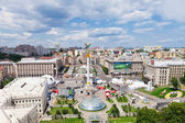 Independence Square - central square of Kiev, Ukraine — Stockfoto