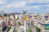 Independence Square - central square of Kiev, Ukraine — Stock Photo