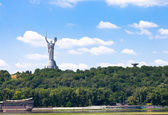 Monument of Mother of the Fatherland, Kiev — Stock Photo
