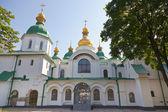 Entrada na catedral de santa sofia, em kiev — Foto Stock