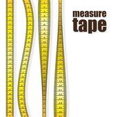 度量值的磁带 — 图库矢量图片