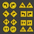 Set of traffic signs — Stock Vector #10914727
