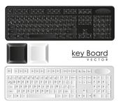 Computer keyboards — Stock Photo
