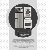 Appliances — Stock Vector
