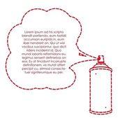 Spray bottle — Stock Vector
