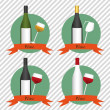 Wine icons — Stock Vector #11475651