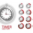 Timer — Stock Vector